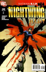 Nightwing #148 R.I.P. (2008) Death Of Batman DC comic book